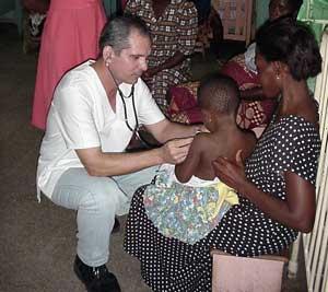 Médicos cubanos en Swazilandia
