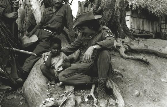 Raúl Castro en la Sierra Maestra