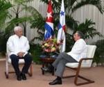 Raúl Castro y Ricardo Martinelli Berrocal