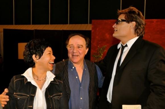 """Suyú, Fabelo y Amaury en """"Con 2 que se quieran"""". Foto: Petí"""
