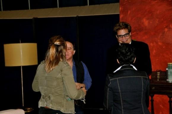 Petí (de espalda), Fabelo y Amaury. Foto: Petí
