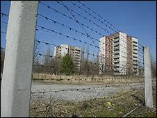 La ciudad donde vivía los trabajadores de Chernóbil, Pripyat, quedó totalmente abandonada.