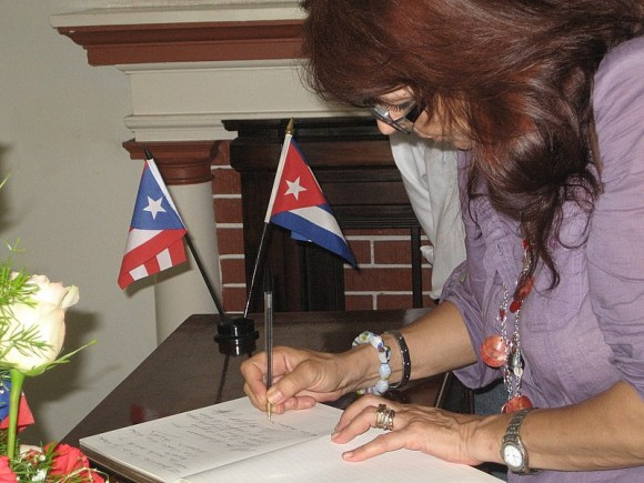 Graciela Ramírez, Coordinadora del Comité Internacional por la Libertad de los Cinco