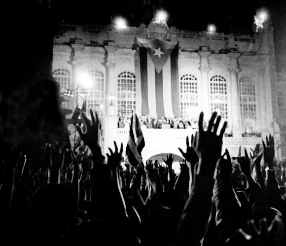 Creacion de los C:D:R: Aniguo Palacio Presidencial, 28 de Septiem,bre de 1961 (Foto Liborio Noval)