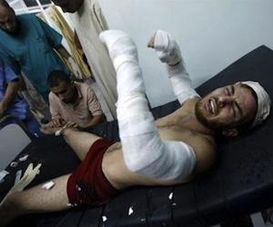 Ataques aéreos israelíes contra Gaza dejan ocho palestinos heridos