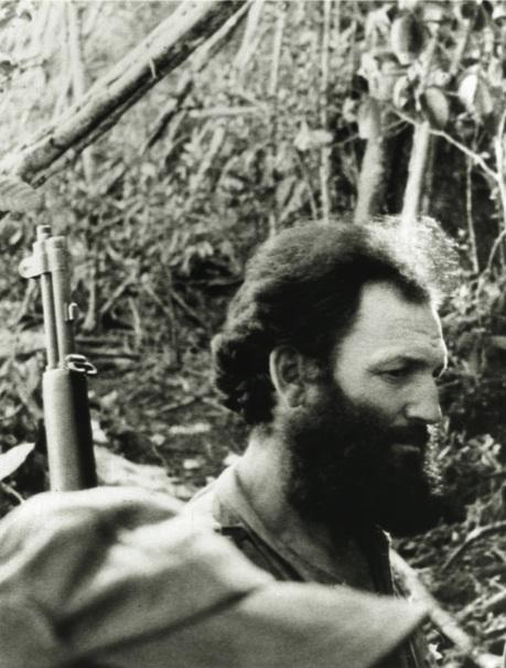 """El capitán rebelde Andrés Cuevas, uno de los jefes """"más eficaces, combativos e inteligentes""""."""