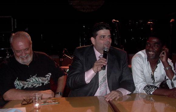 Tony, Lugo y Manolito. Foto: Yandy Chirivella