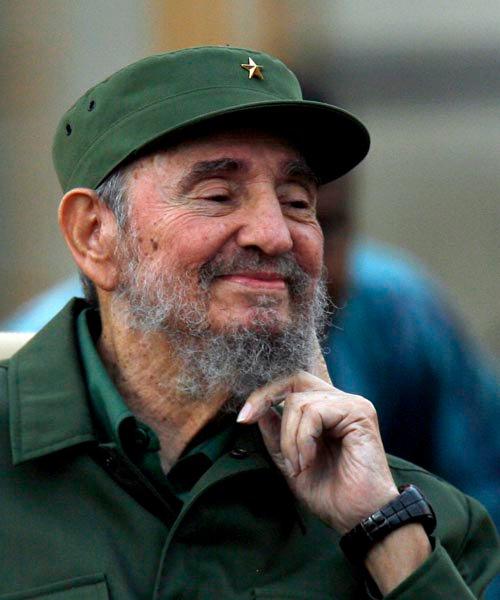 Fidel en el aniversario 50 de los CDR. Foto: Ismael Francisco