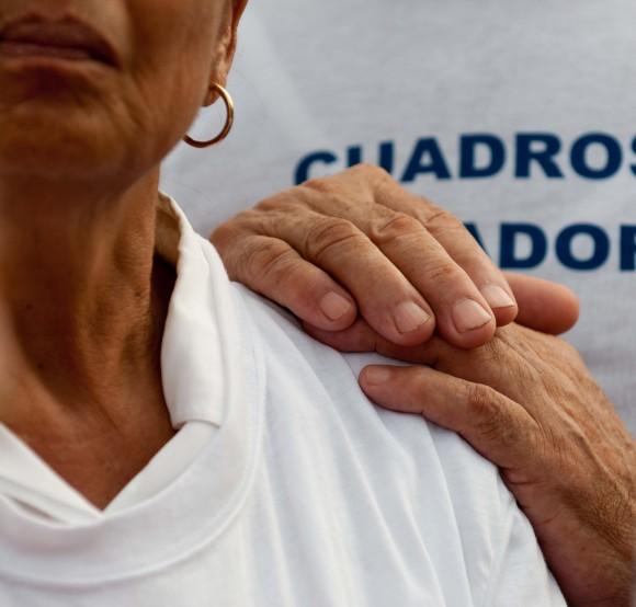 Asistente al acto por el aniversario de los CDR. Foto: Roberto Chile