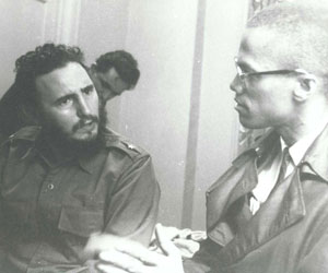 Recuerdan en Nueva York encuentro entre Fidel Castro y Malcolm X