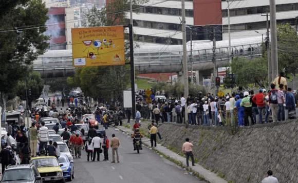 Foto del hospital donde está Correa