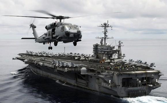 El MH-60R Seahawk (modelo Romeo), fabricado por Sikorsky Aircraft