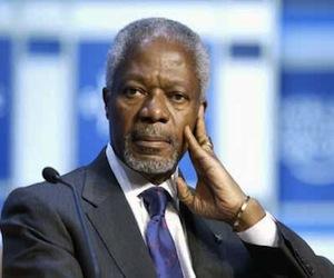 ¿Reino Unido sabotea el plan de paz de Kofi Annan para Siria?