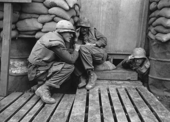 La guerra es un infierno Foto: AP/ Rick Merron