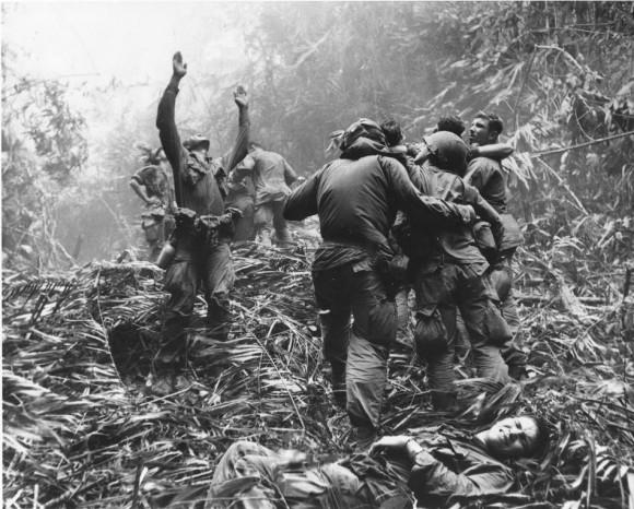 La guerra es un infierno (Foto: AP/ Art Greenspon)