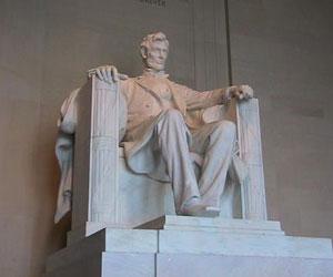 Monumento a Lincoln en Washintong