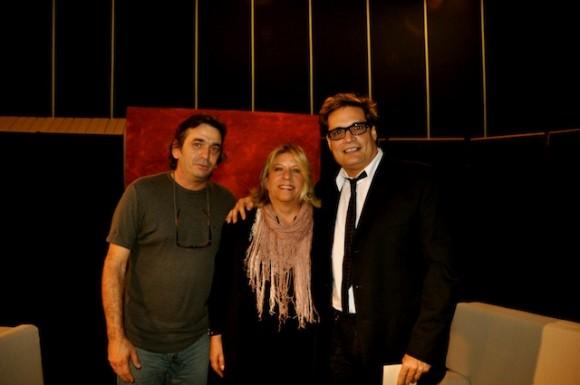 """Rafael Solís, Marilyn Bobes y Amaury Pérez en """"Con 2 que se quieran"""". Foto: Petí"""