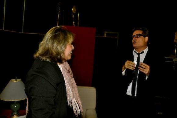 """Marilyn Bobes y Amaury Pérez en """"Con 2 que se quieran"""". Foto: Petí"""