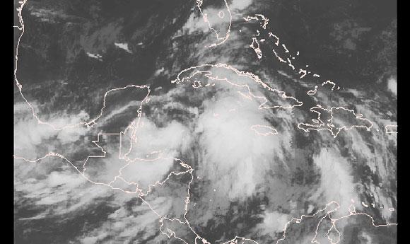 Se formó en el Mar Caribe la tormenta tropical Hanna