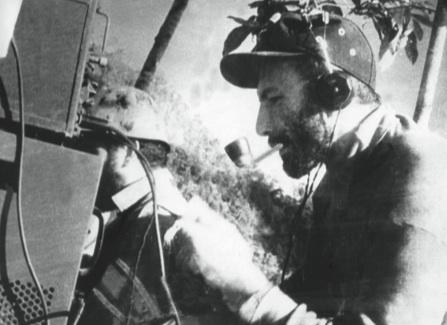 Eduardo Fernández, técnico de la planta trasmisora de Radio Rebelde.