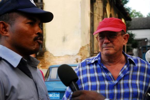 """Concierto de Silvio Rodríguez en el barrio """"La Corbata"""". Foto: Iván Soca"""