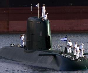 Submarino atómico israelí