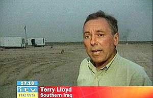 Terry Lloyd, británico. Víctima del terrorismo en Iraq
