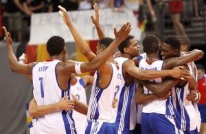 Equipo cubano de voleibol.  (Foto de Archivo)
