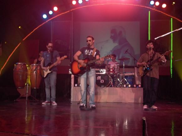 Nassiry Lugo actuó en la Gala de Nominados