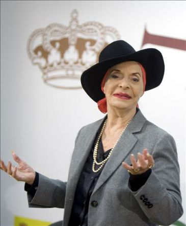 Naples Pays Tribute to Alicia Alonso