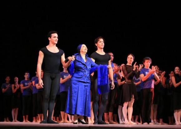 Alicia Alonso en la inauguración del Festival de Ballet. Foto: La Jiribilla