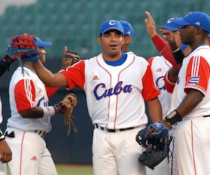 Dalier Hinojosa será el abridor del primer juego. Foto: Marcelino Vázquez Hernández/AIN