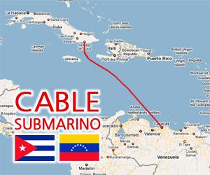 Llega a Venezuela buque con fibra óptica para Cuba