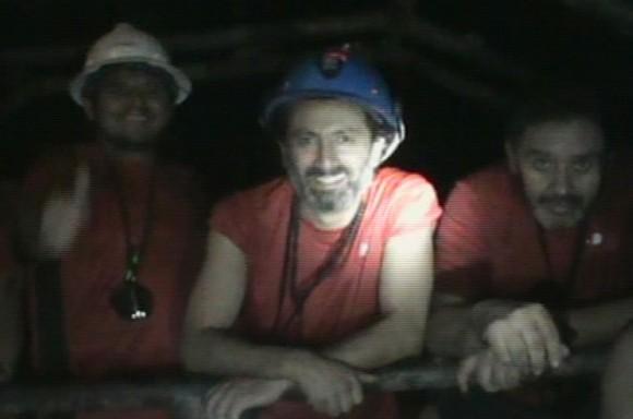 Los mineros el 1 de septiembre de 2010. (REUTERS /