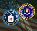 Logos de la CIA y el FBI