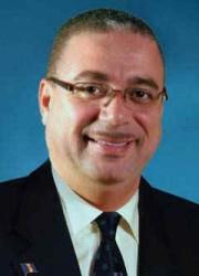 El fallecido Primer Ministro barbadense David Thompson