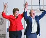 Dilma y Jose Serra