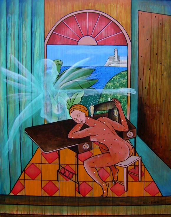 Estudio de intimidad, 2009. 130 x 162 cm