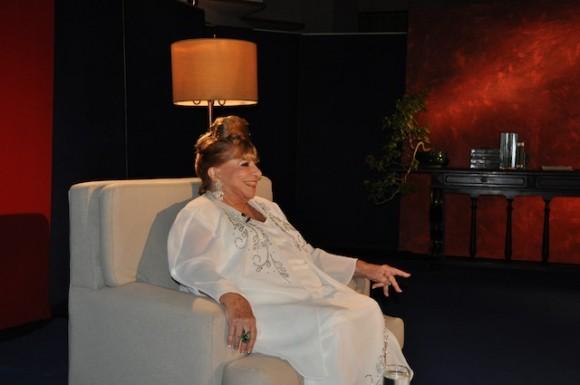 """Eva Rodríguez, en """"Con 2 que se quieran"""". Foto. Petí"""