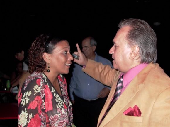 Ela Ramos, Gerente  General de Bis Music, Frank Fernández y Jorge Ruiz  Presidente de ARTex.