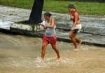 """Fuertes lluvias y rachas de viento, provocadas por el Huracán """"Paula"""", en Ciudad de La Habana, el 14 de octubre de 2010. AIN FOTO/Marcelino VAZQUEZ HERNANDEZ"""