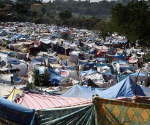 Haití: campamentos de refugiados