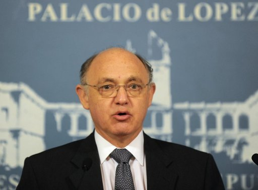 El canciller argentino, Héctor Timerman.