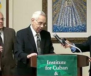 Homenaje a Orlando Bosh en la Universidad de Miami