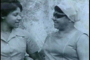 Inés Sáncehz Salazar y su hija Inés Luaces Sánchez