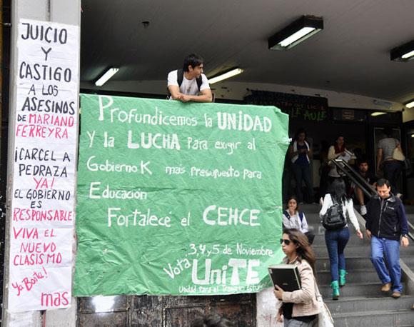 Argentina: La juventud no permite impunidad. Foto: Kaloian