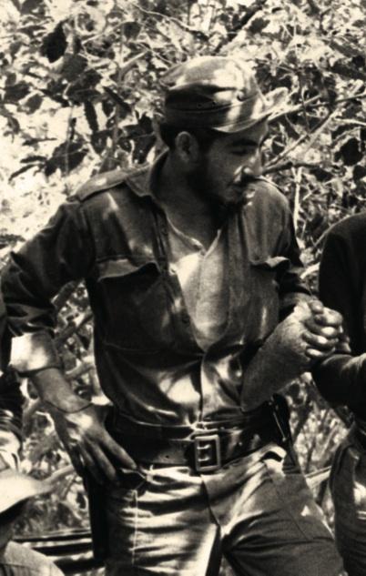 El combatiente Alcibiades Bermúdez, participante de la contraofensiva final.