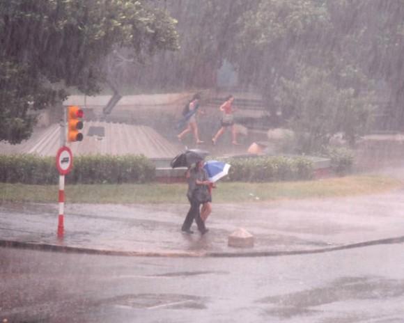 Juin: mois de fortes pluies à Cuba
