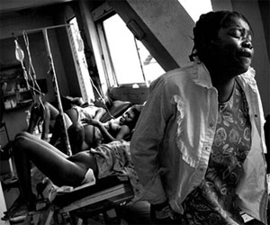 Mujeres embarazadas en Haití