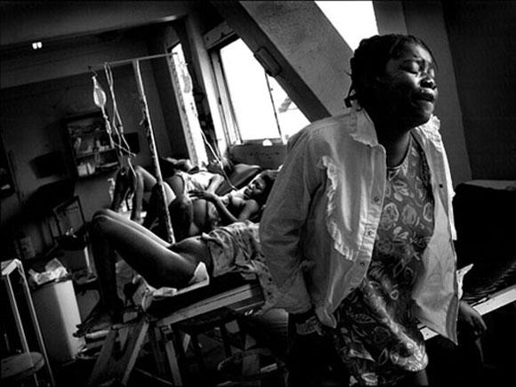 Hospital de Maternidad de Puerto Príncipe, Haití, y fue premiada con el premio Pulitzer 2009, ANTES del terremoto.